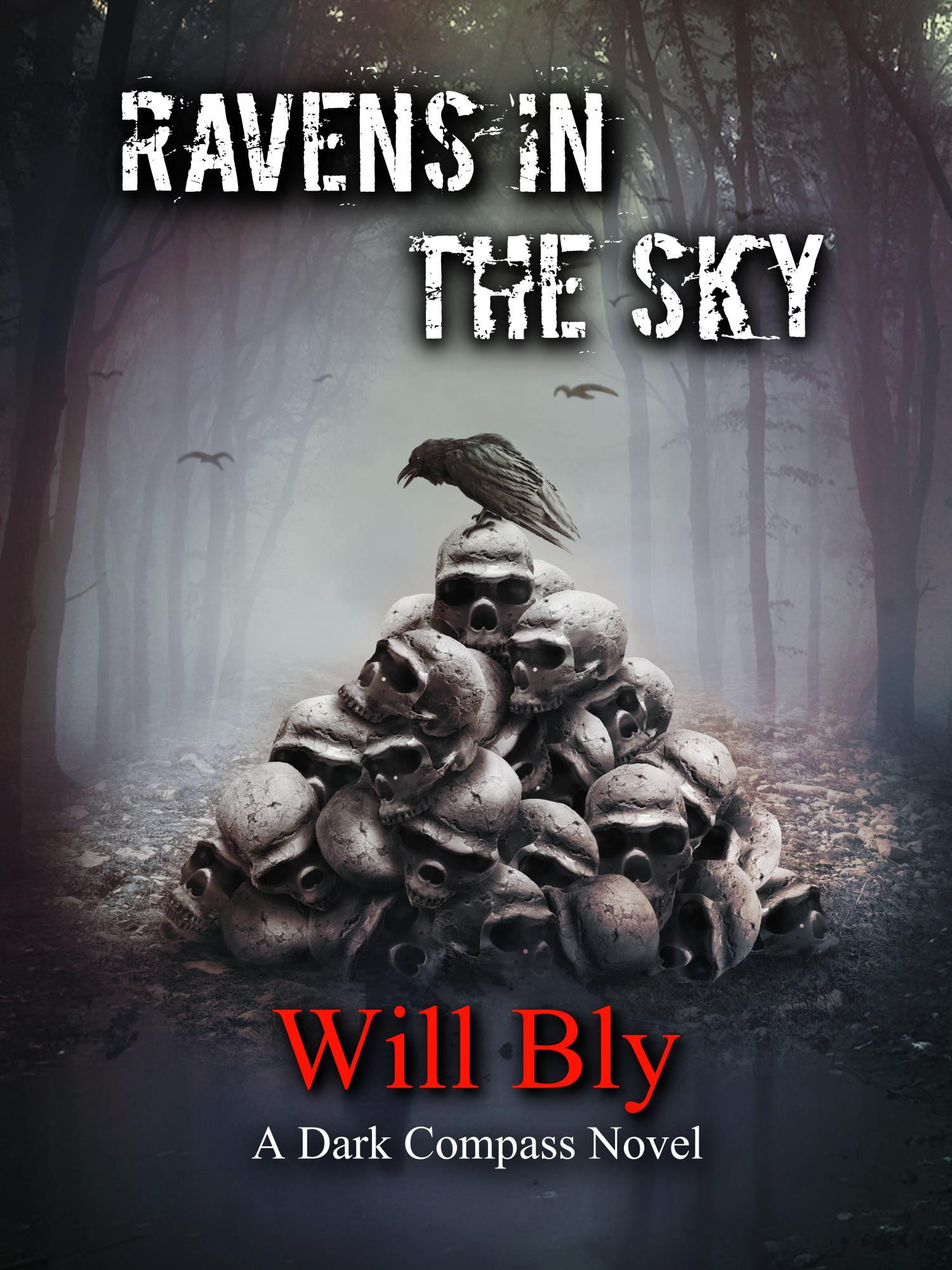 Debut Fantasy-Mystery, Ravens in the Sky