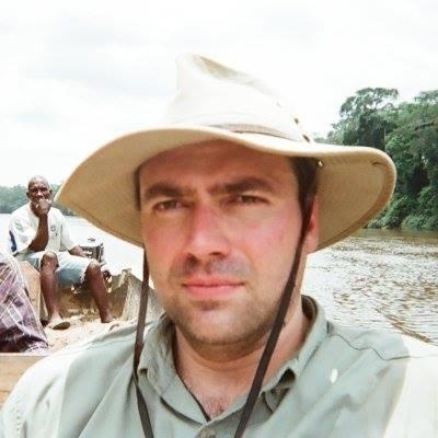 Robert Mullin in Africa